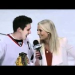 Fan Tells Chicago Reporter He Loves Her