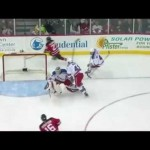 Henrik Lundqvist Incredible Paddle Save 3/6/12