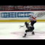 Kunitz Tosses Coburn Head Over Heels 4/20/12