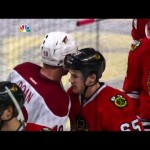 Phoenix Coyotes Put The Bite On The Blackhawks 4/23/12