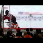 Anton Volchenkov Almost Takes Matt Read's Head Off- 5/3/12