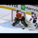 Bryzgalov's Bone Headed Play 5/8/12