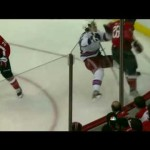 Matt Hendricks Crushes Ryan McDonagh- 5/2/12