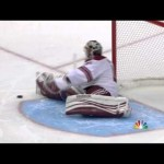 Mike Smith Amazing Save on Anze Kopitar- 5/20/12
