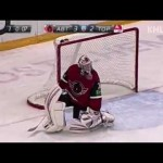 KHL Varnakov Lob Pass to Himself to Score- 10-21-2012