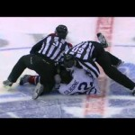 Fight – AHL Joe Colborne Vs Gabriel Dumont – 11-17-2012