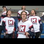 "Kalamazoo Junior K-Wings Lip Synching One Direction's ""Live While We're Young"" – 11-26-2012"