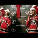 "WHL – Calgary Hitmen – ""Rockin' Around the Christmas Tree"" – 12-4-2012"