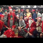 Ottawa 67′s Sing Santa Claus is Coming to Town by Mariah Carey – 12-11-2012