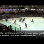 COLLEGE: Cody Ferriero Scores 4 For Northeastern