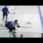 WJC – Lukas Sieber's Dirty Hit on Ville Pokka – 12-30-2012