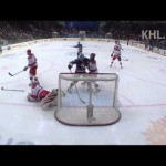KHL –  Ovechkin Makes a Great Move to Score – 12-30-2012