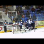 LNAH – Marquis Player Pushes the Net on Goalie – 12-28-2012
