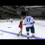 KHL – All Star Game Figure Skating Callenge!?