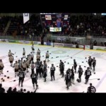 Fight – Scary Bertuzzi Like Incident Leads to Brawl – 1-11-2013