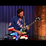 Henrik Lundqvist Plays G n' R on Jimmy Fallon -1-12-2013