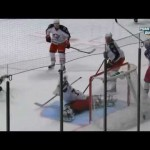Bobrovsky Quick Glove Save on Palmieri – 2-18-2013