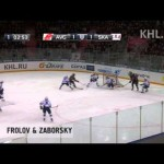KHL Top 10 Goals of the Week – 2-19-2013
