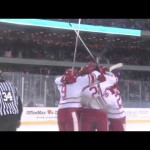 NCAA – Wisconsin vs Minnesota Hockey City Classic Highlights – 2-17-2013
