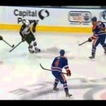 Bad Hit – Taylor Hall Knees Clutterbuck – 2-21-2013
