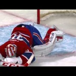 Carey Price Takes One In The Berries! 2-6-13