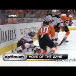 Bad Hit – Brayden Schenn Charging on Harrold – 3-15-2013