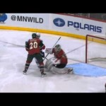 "NHL – Sedin Quick Thinking on his ""Feet"" to Score – 3-10-2013"