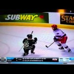 Domi Celebrates Empty Netter Maybe Too Much – 4-12-2013