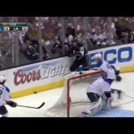 Hit – Lewis Drives Steen into the Boards  – 5-4-2013