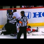 Another Fight + Elbow to the Head from Sens Habs Game – 5-5-2013