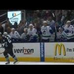 Gomez Slashes a Canuck on the Bench! – 5-7-2013