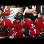 Abdelkader Gets a Stick in the Head Attempting a Hit – 5-15-2013