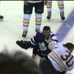 FIGHTS! – Line  Brawl In Toronto Buffalo Game – 9-22-2013