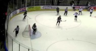 GOAL! – Amazing Tip By Vees Brad McClure in BCHL Playoffs! 3-30-2013