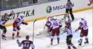 KHL – Indrasis Scores Incredible Lacrosse Goal – 1-22-2013