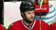Seabrook Knocks Puck Out of Air to Save Goal! – 5-15-2013