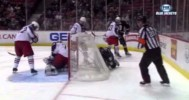 Off Beat – Bizarre Goal by Steckel Against Columbus – 4-17-2013