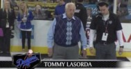 Funny – Tommy Lasorda Leaves Johnson Hanging! – 4-18-2013
