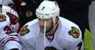 Seabrook Drives Cleary into the Net – 5-20-2013