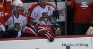 Gionta Hit Onto and Off of the Bench! – 4-20-2013