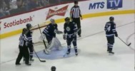Save – Pavelec Guards the Net and Saves the Jets – 3-2-2013