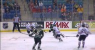 Ty Rattie With a Beauty for Portland at Mem Cup – 5-20-2013