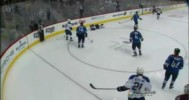 HIT – Tarasenko Stunned by Blind Side Slam- 2-20-2013