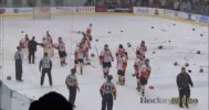 Bench Clearing Brawl in the QMJHL Playoffs! – 4-24-2013