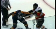 Fight – OHL- Jordan Subban vs Andreas Athanasiou – 4-24-2013