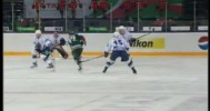 KHL – Glass Breaks but Protects the Cheerleaders – 12-7-2012