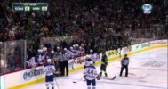 Fight – Konopka and Brown After Just 2 Seconds – 4-26-2013