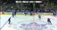 AHL – Monster Hit by Carter Ashton of the Marlies! – 4-28-2013