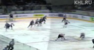 KHL – Great Pass Leads to a Great Goal – 2-26-2013