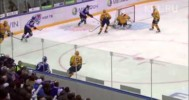 KHL – Galimov Great Reaction Save -2-28-2013